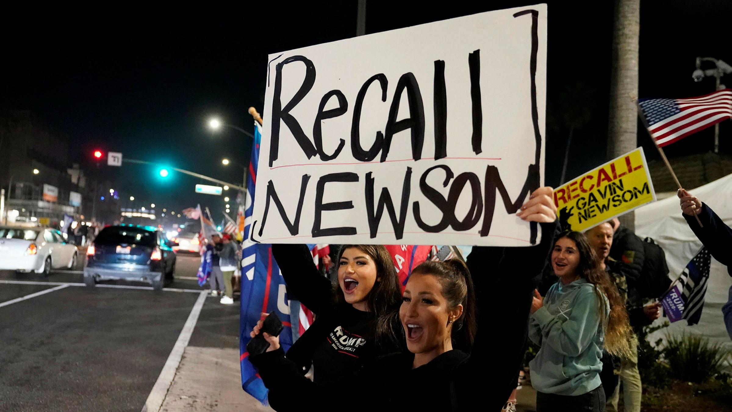 California governor to face recall election | Financial Times
