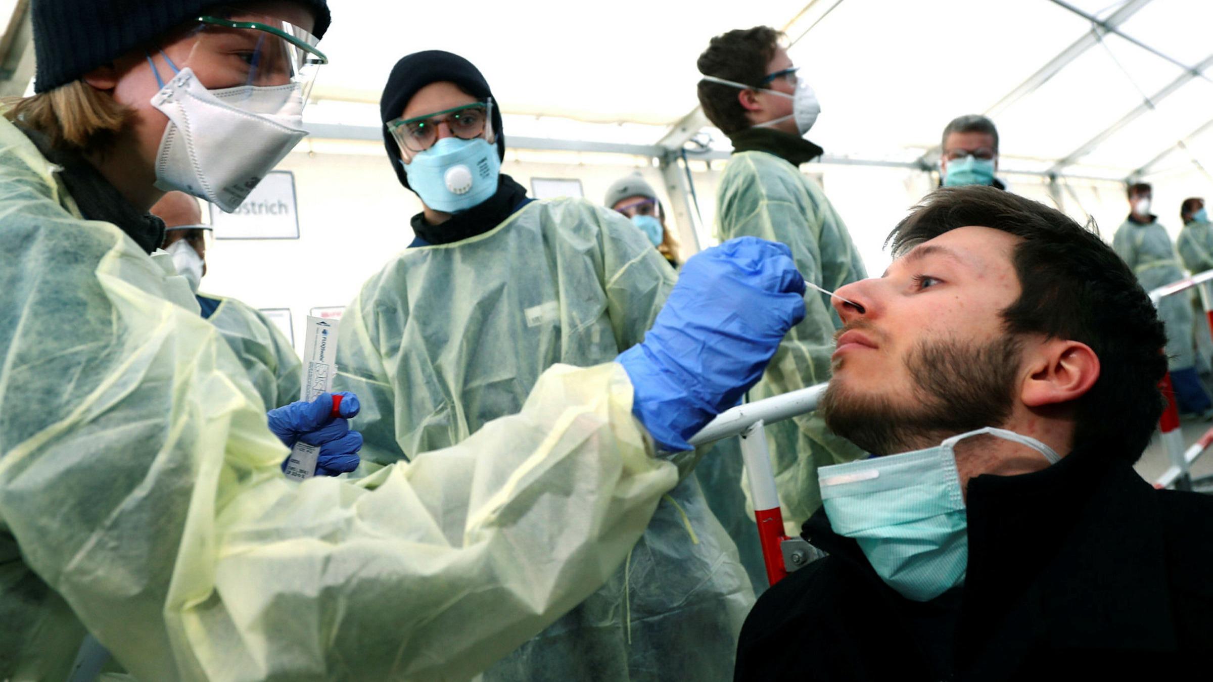 Germany conducting more than 20,20 coronavirus tests a day ...