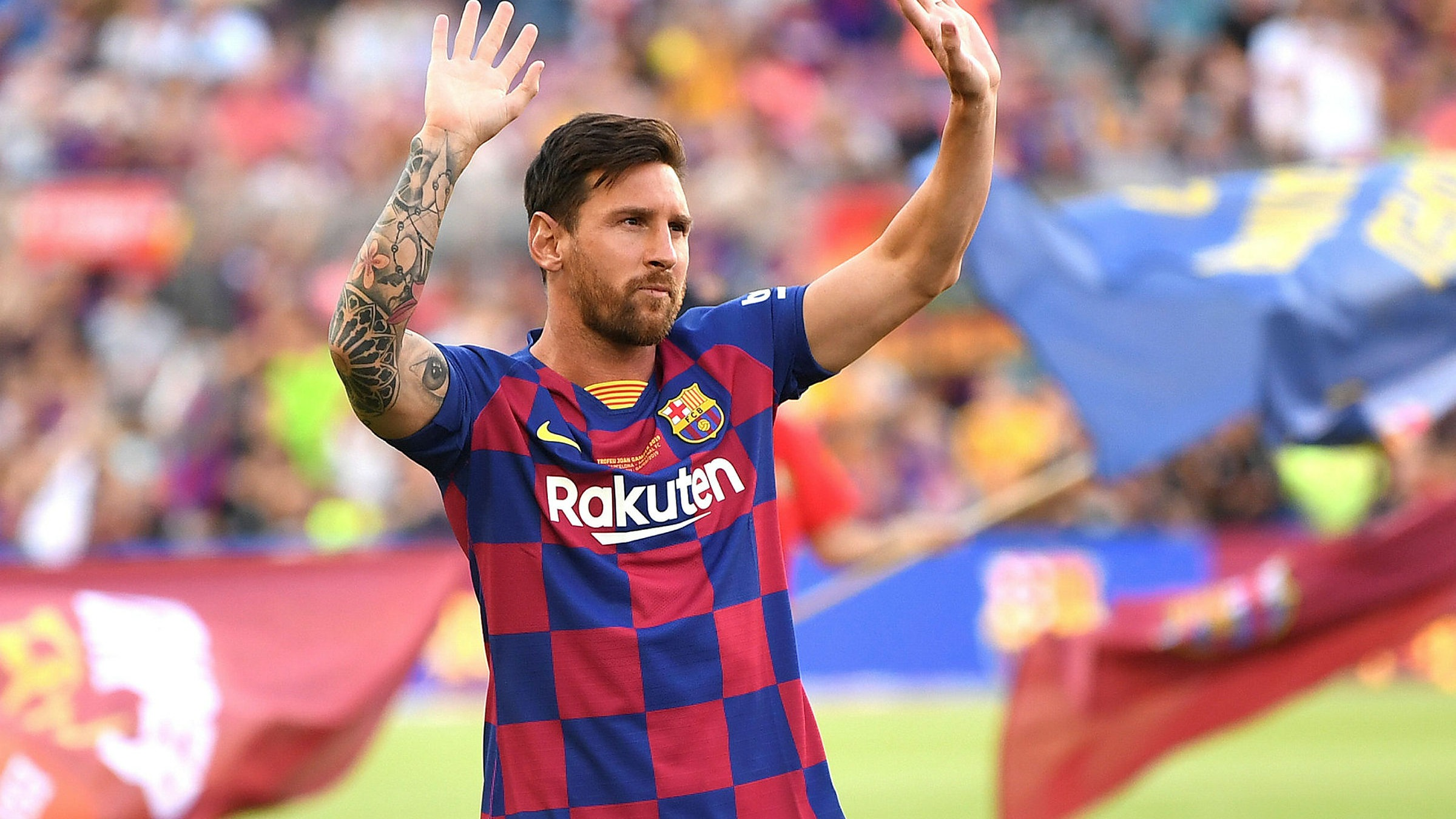 Lionel Messi And Barcelona Part Company In End To Era Financial Times