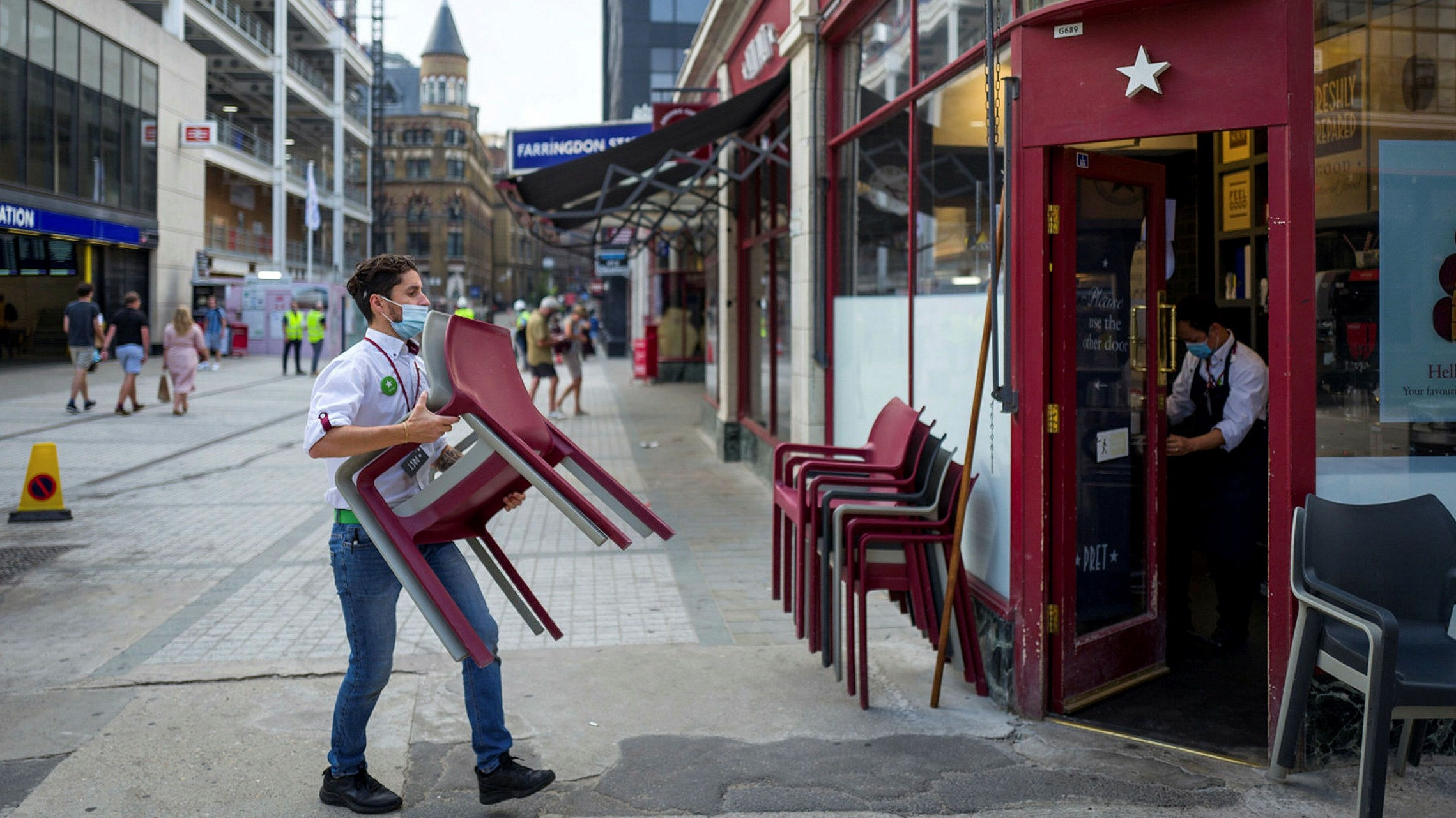Goodbye to the 'Pret economy' and good luck to whatever replaces it | Financial Times