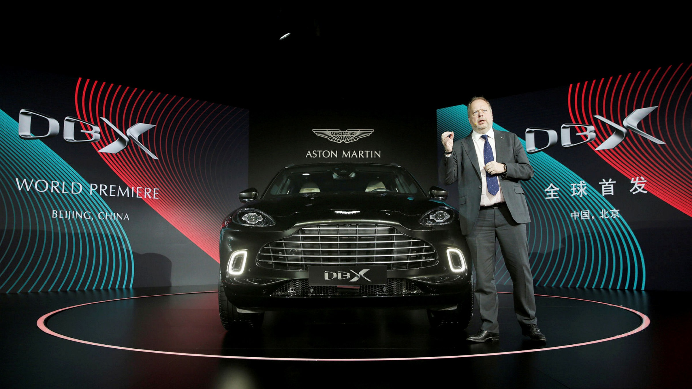 Aston Martin Confirms Departure Of Chief Andy Palmer Financial Times