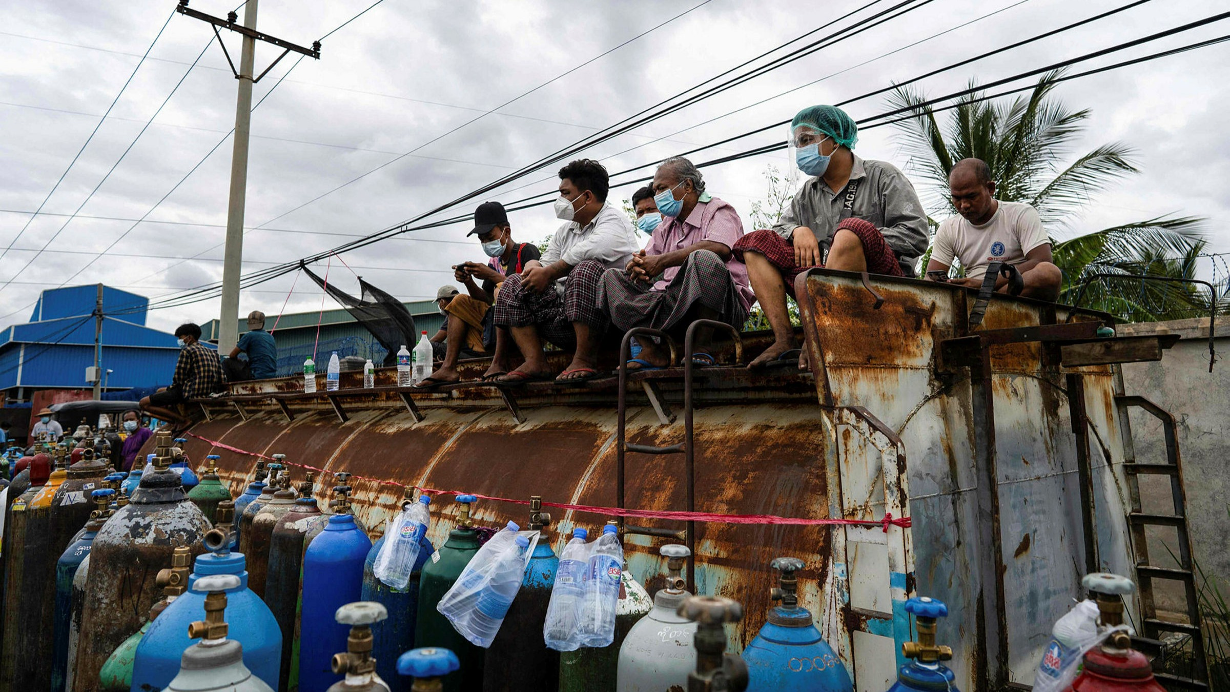 Myanmar's Covid surge fuelled by distrust of military junta | Financial Times