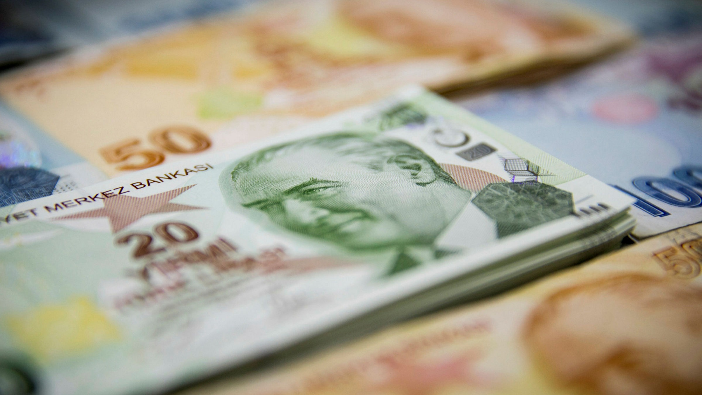 The Turkish lira dropped as much as 1.6 per cent on Tuesday to 6.97 against the dollar, the weakest level since April