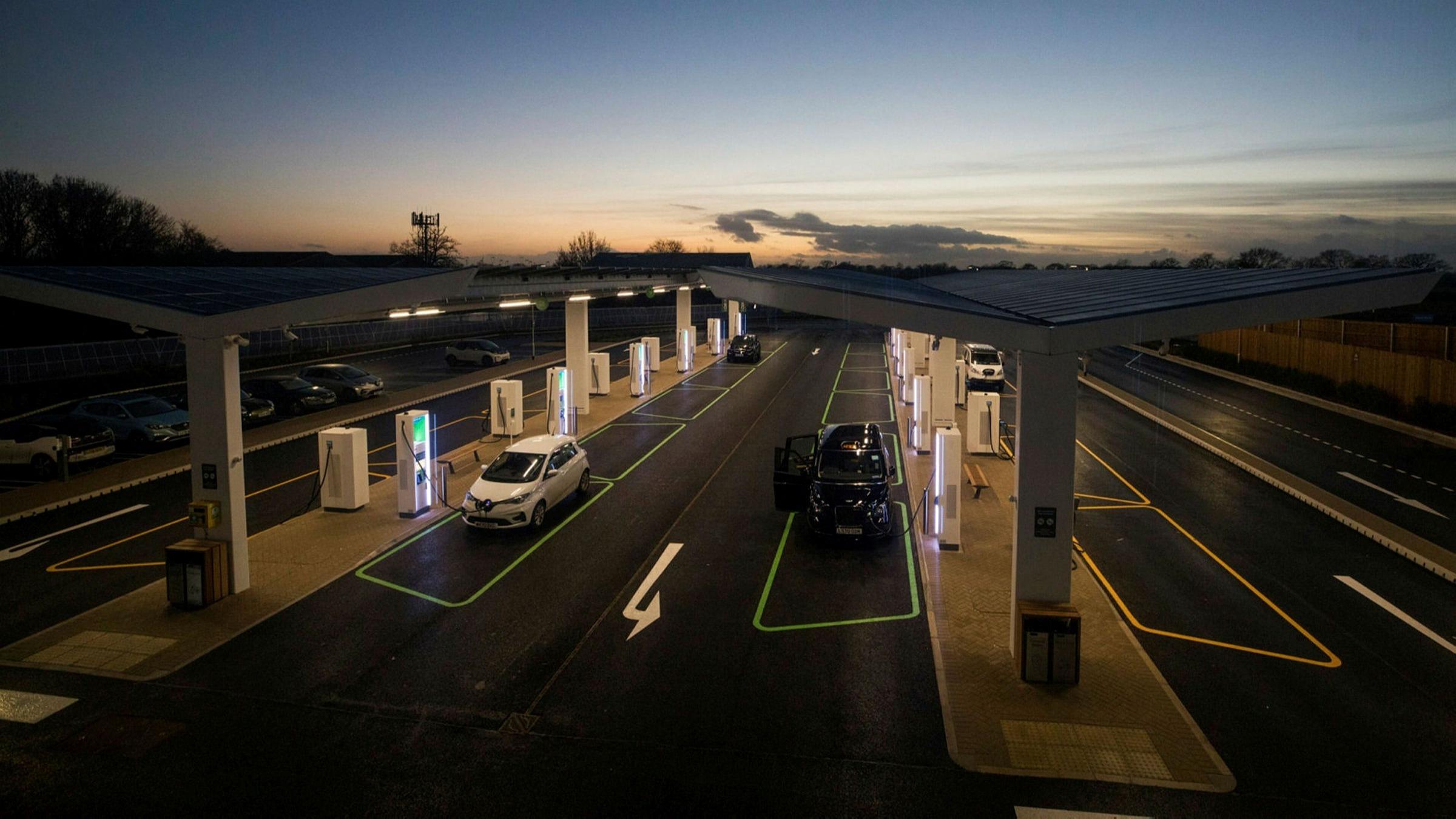 ft.com - Nathalie Thomas in Edinburgh and Kate Beioley in London - UK watchdog to probe electric vehicle motorway charging deal