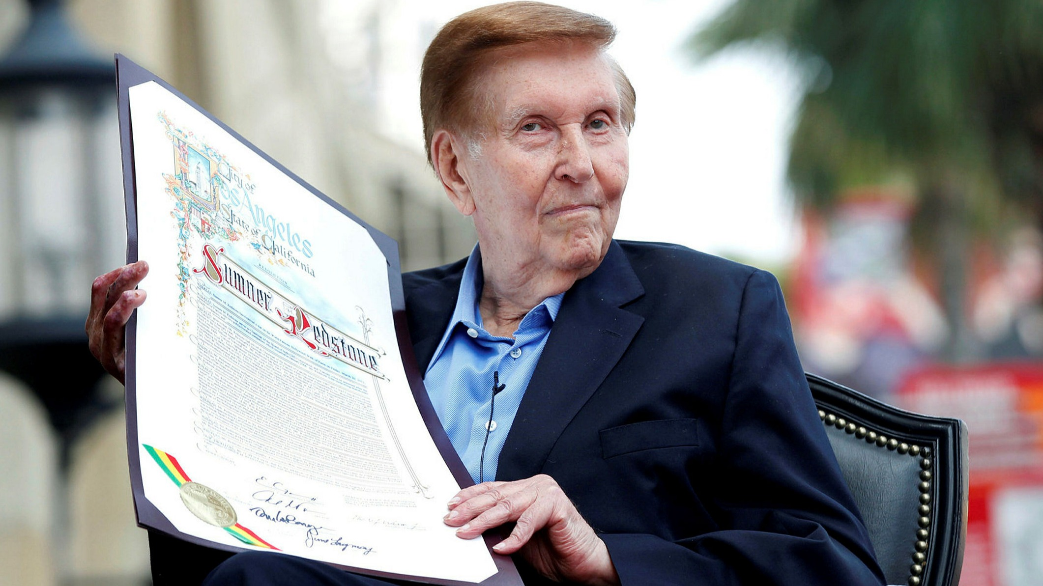 Viacom and CBS mogul Sumner Redstone dies aged 97 | Financial Times
