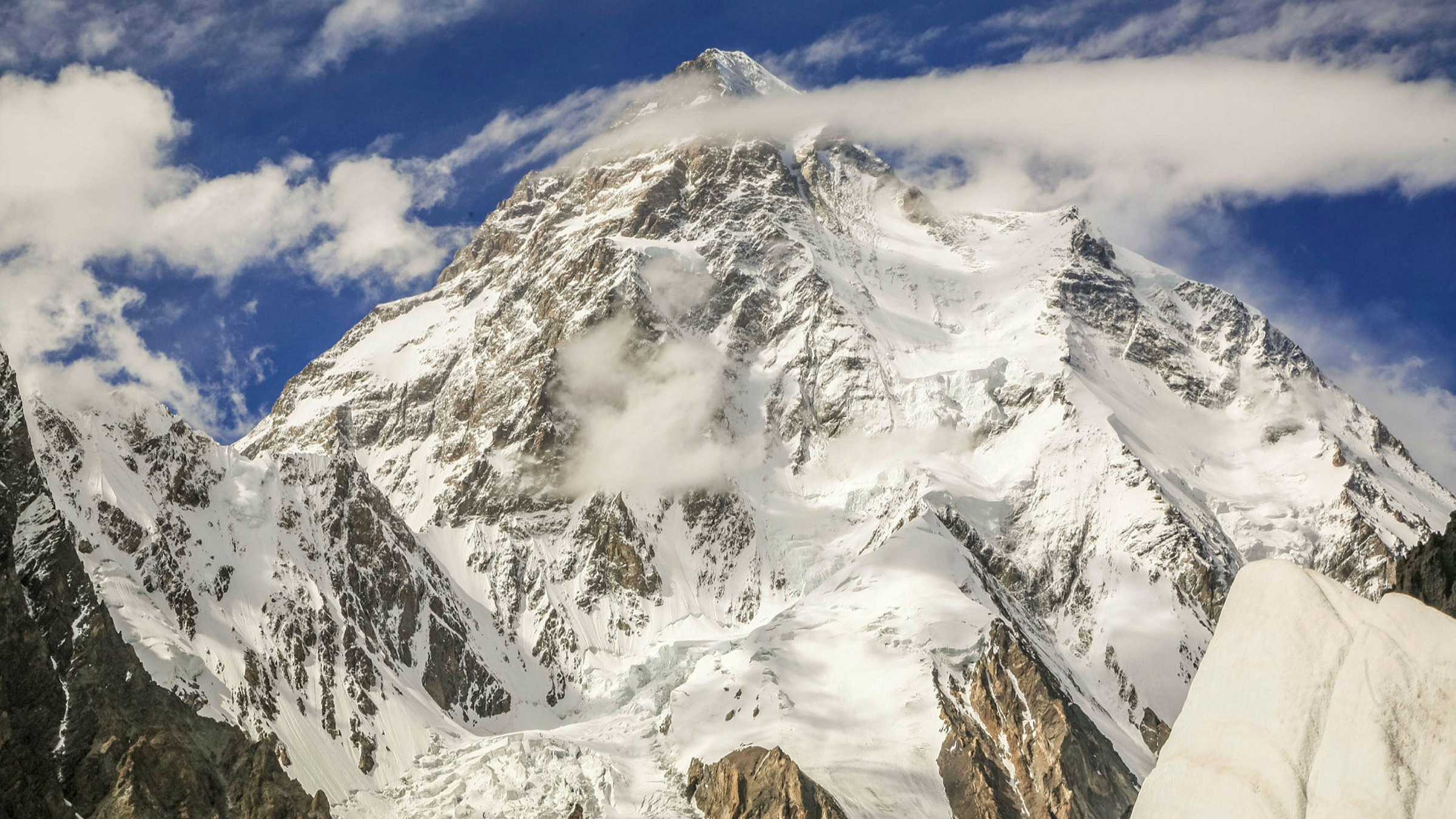 K2 In Winter Climbers Reach For Mountaineering S Last Great Prize Financial Times