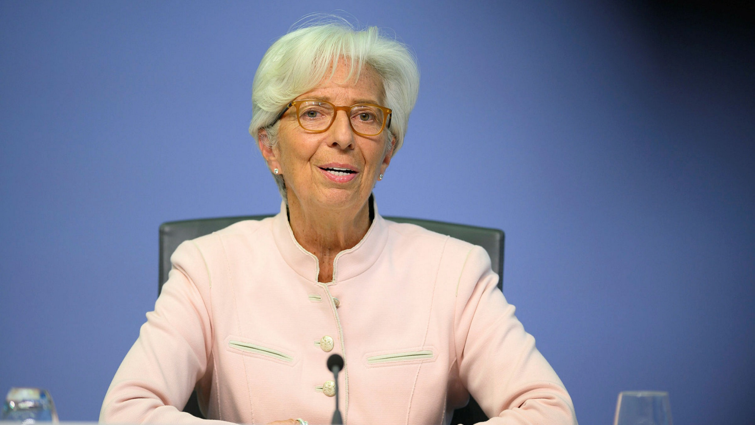 Christine Lagarde, ECB president. If the central bank conducts its policy review and adopts an average target of, say, 2 per cent, it would give itself more flexibility