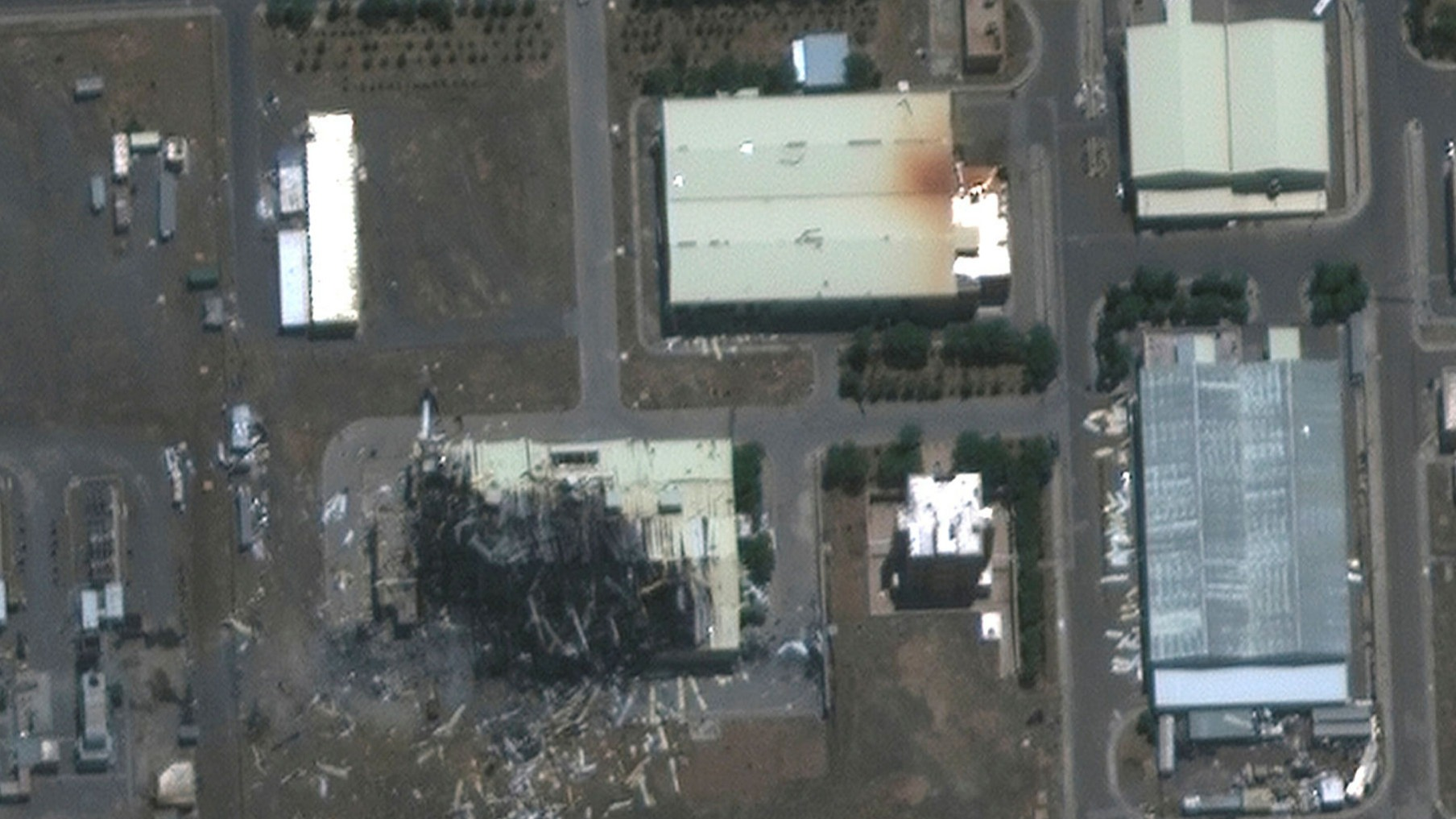 Mystery Swirls Around Explosion At Iran S Natanz Nuclear Facility Financial Times
