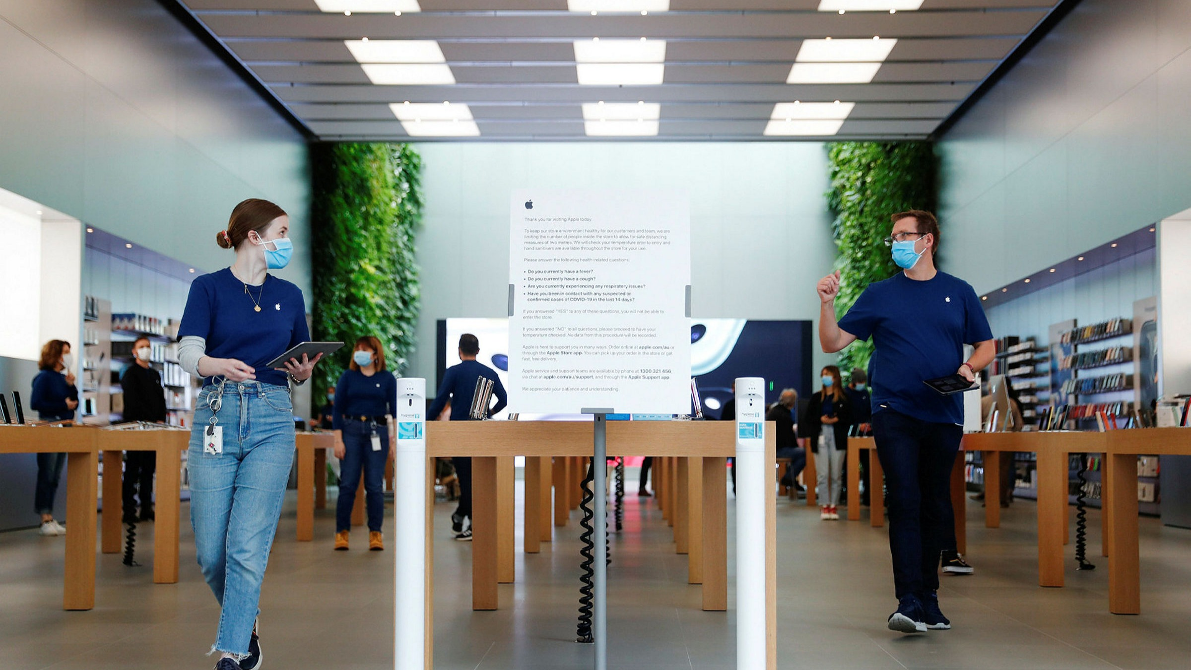 Apple Will Start To Reopen Some Us Stores Financial Times