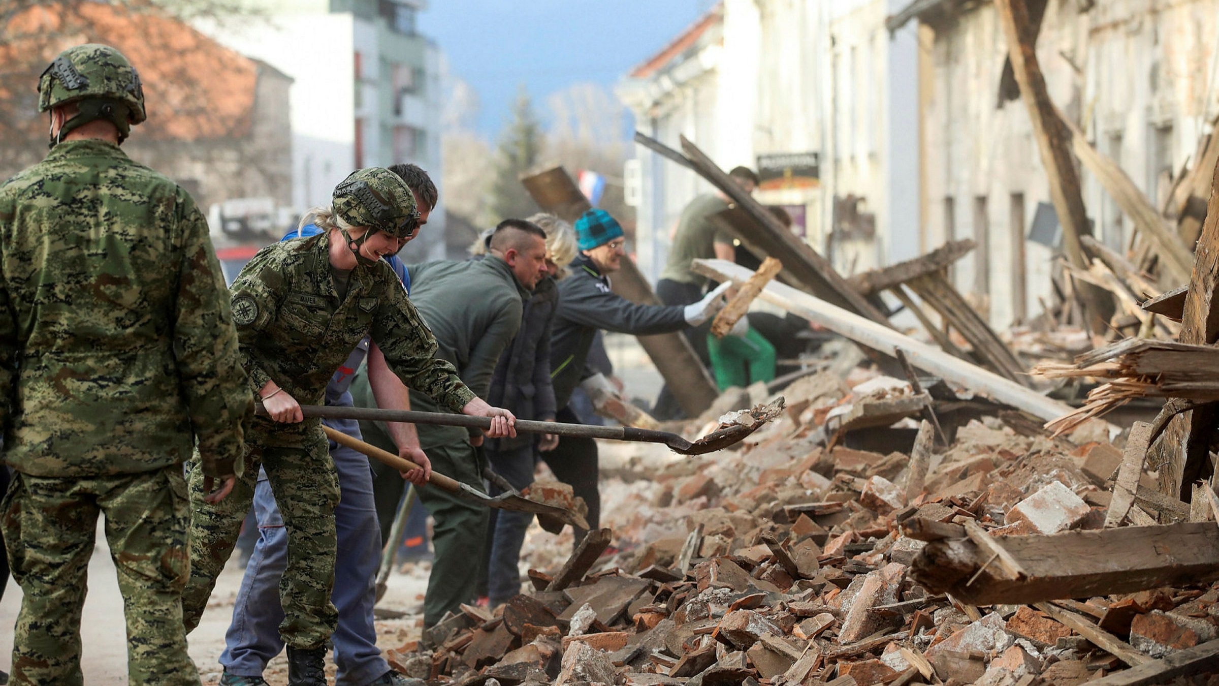 Croatian Earthquake Claims At Least 7 Lives Financial Times