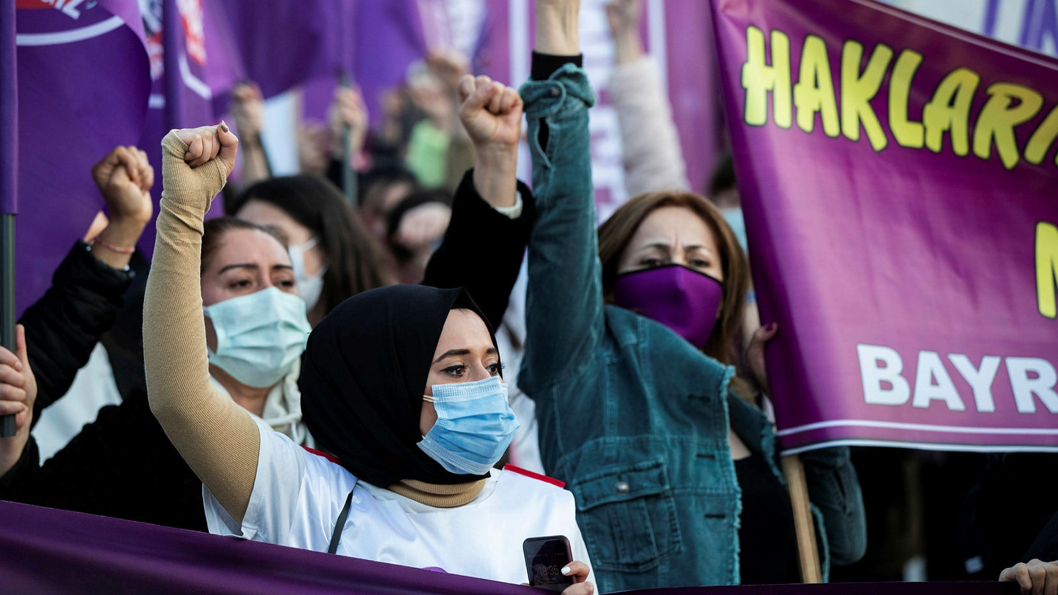 Turkey withdraws from treaty protecting women against violence | Financial  Times