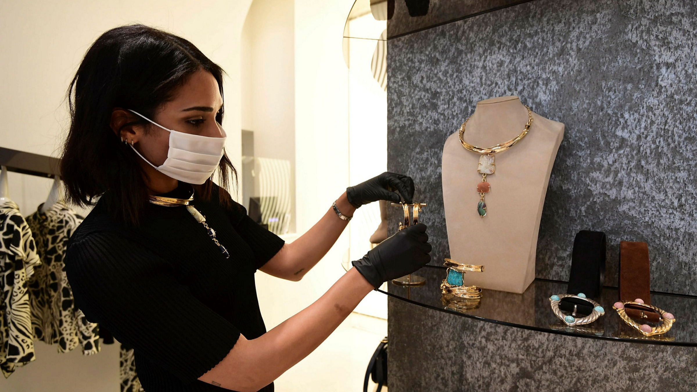 Europe S Luxury Goods Capitals Reopen To New Reality Financial Times