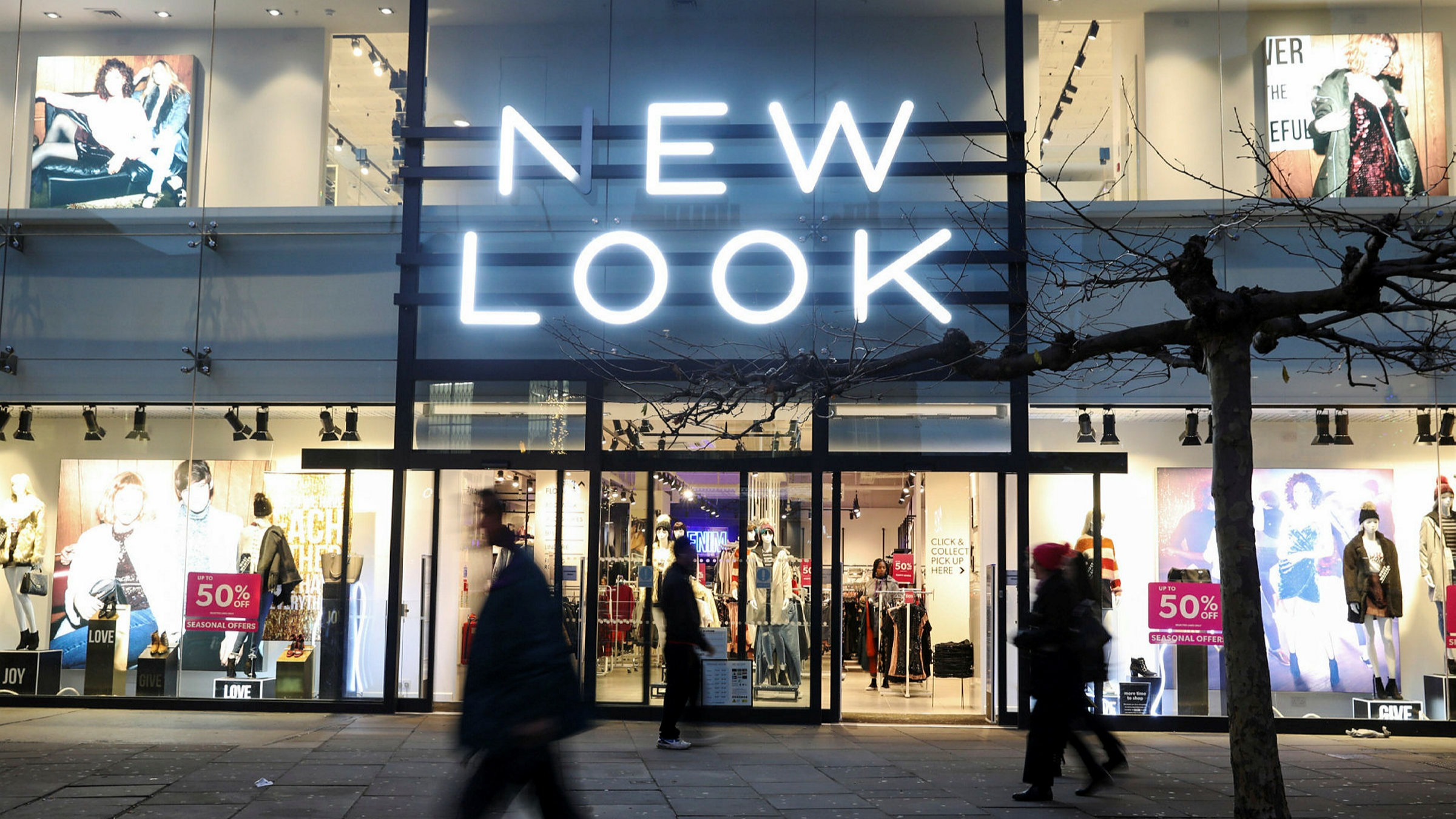 Landlords approve restructuring of fashion retailer New Look ...