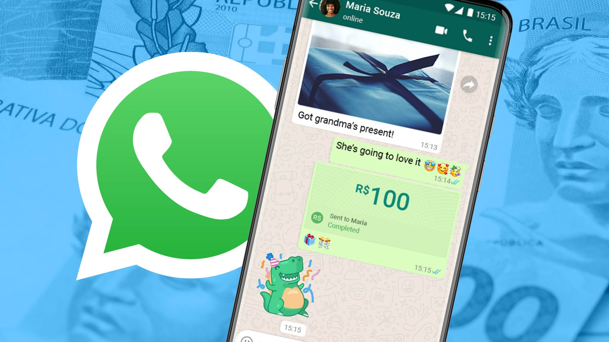 Whatsapp payment service