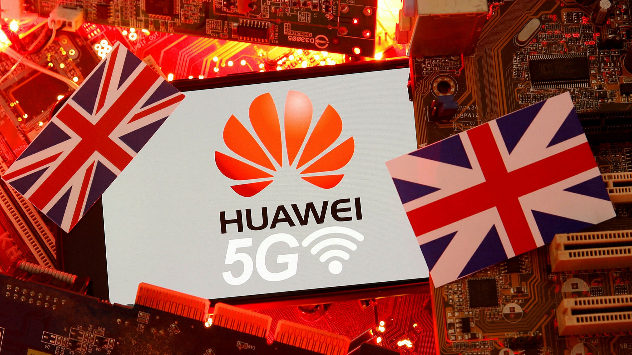 Huawei 5g kits get banned in UK