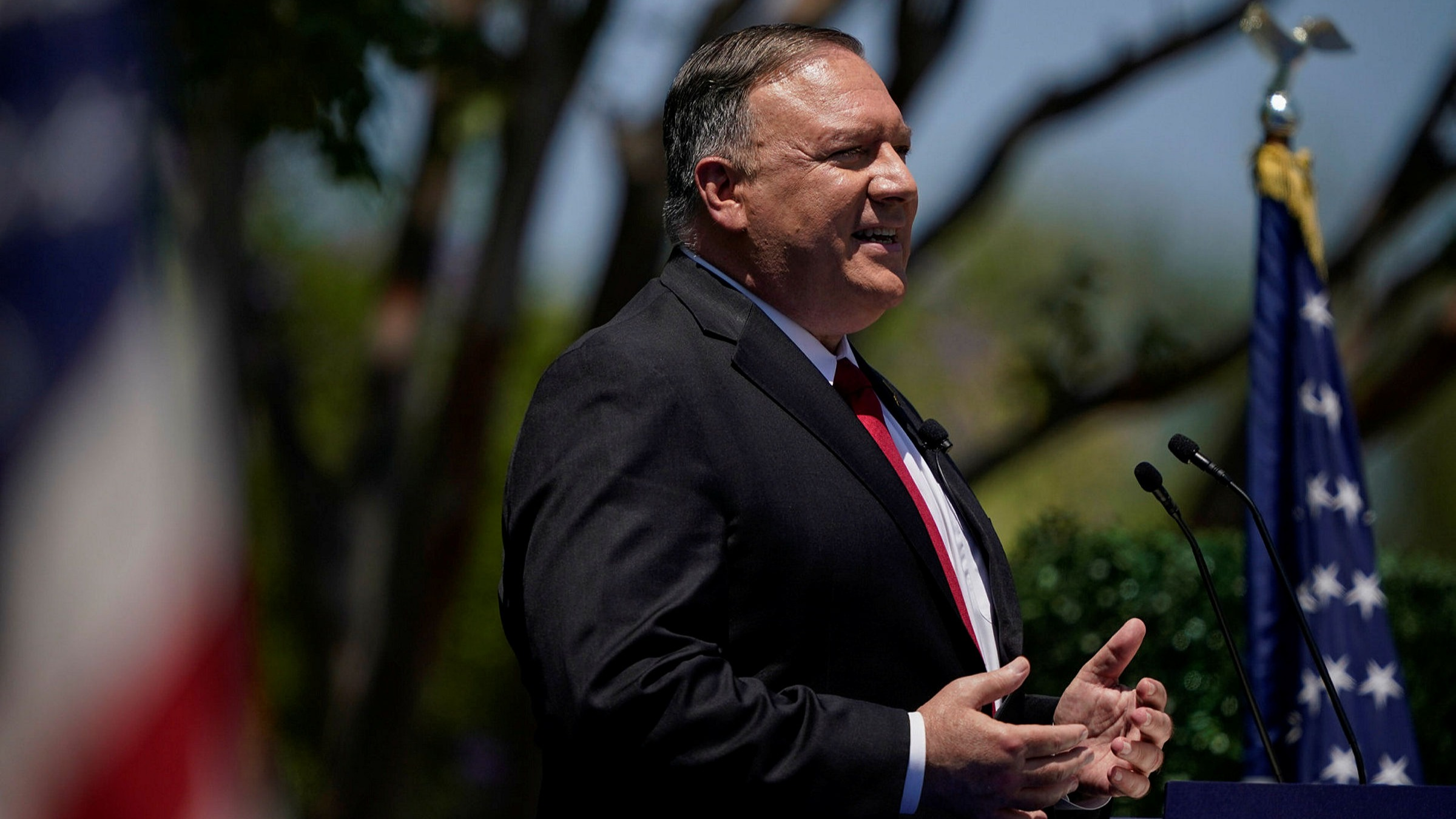 Pompeo calls for an end to 'blind engagement' with China 1