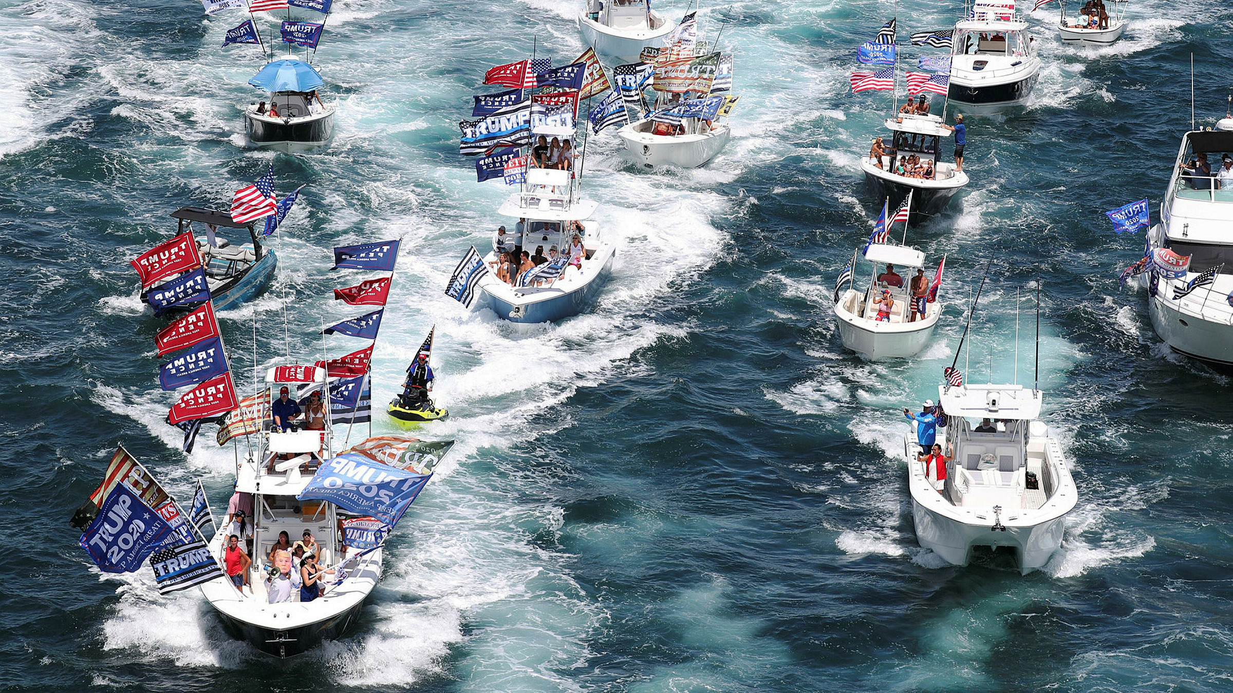 Those Boats In Texas Paraded At The Wrong Speed Financial Times