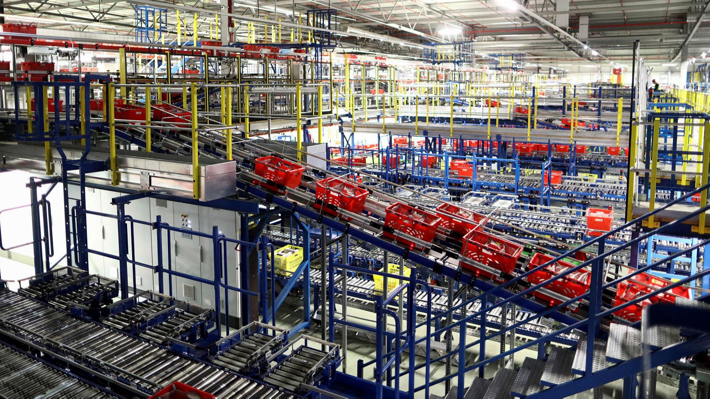 Segro/industrial property: delivery hero