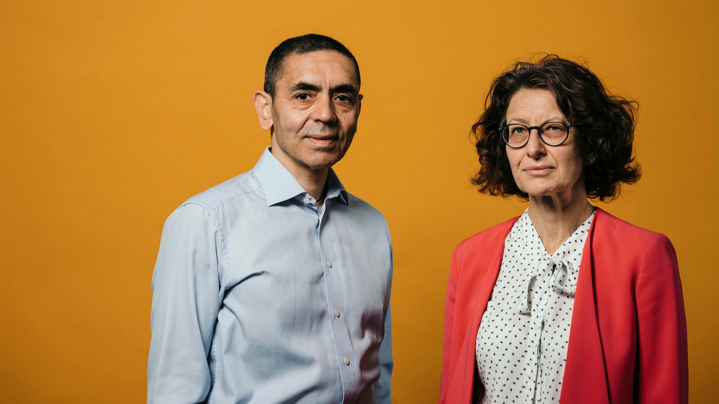 FT People of the Year: BioNTech`s Ugur Sahin and Ozlem Tureci | Financial Times