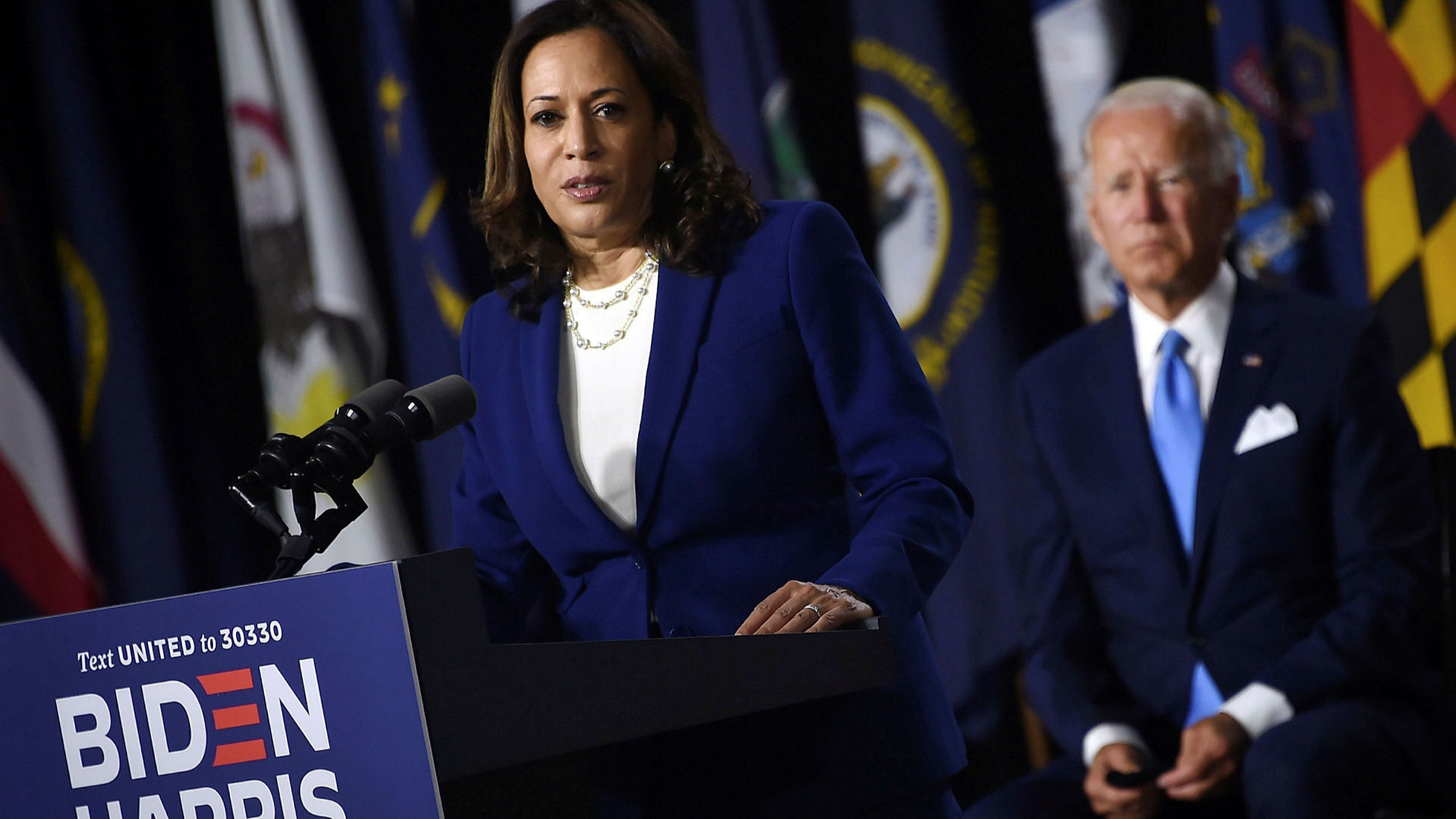 Kamala Harris Hits Out At Trump S Pandemic Record In Biden Ticket Debut Financial Times