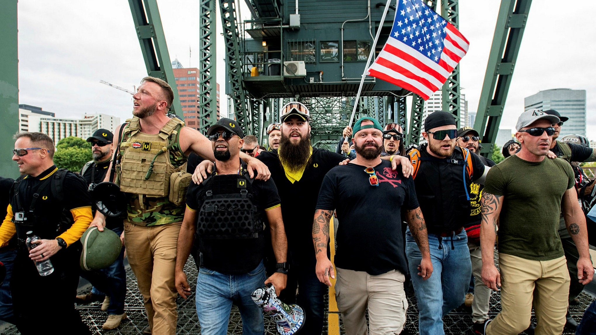 Trump comments embolden far-right Proud Boys | Financial Times