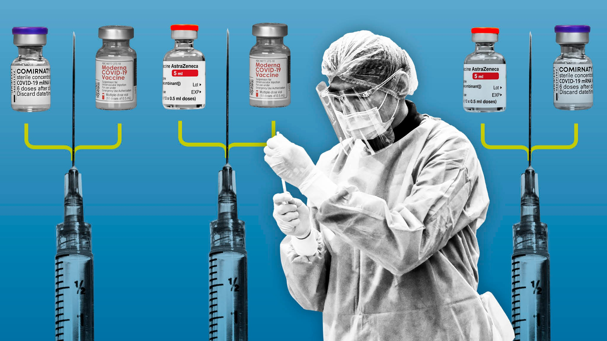 Can mixing Covid vaccines work? | Financial Times