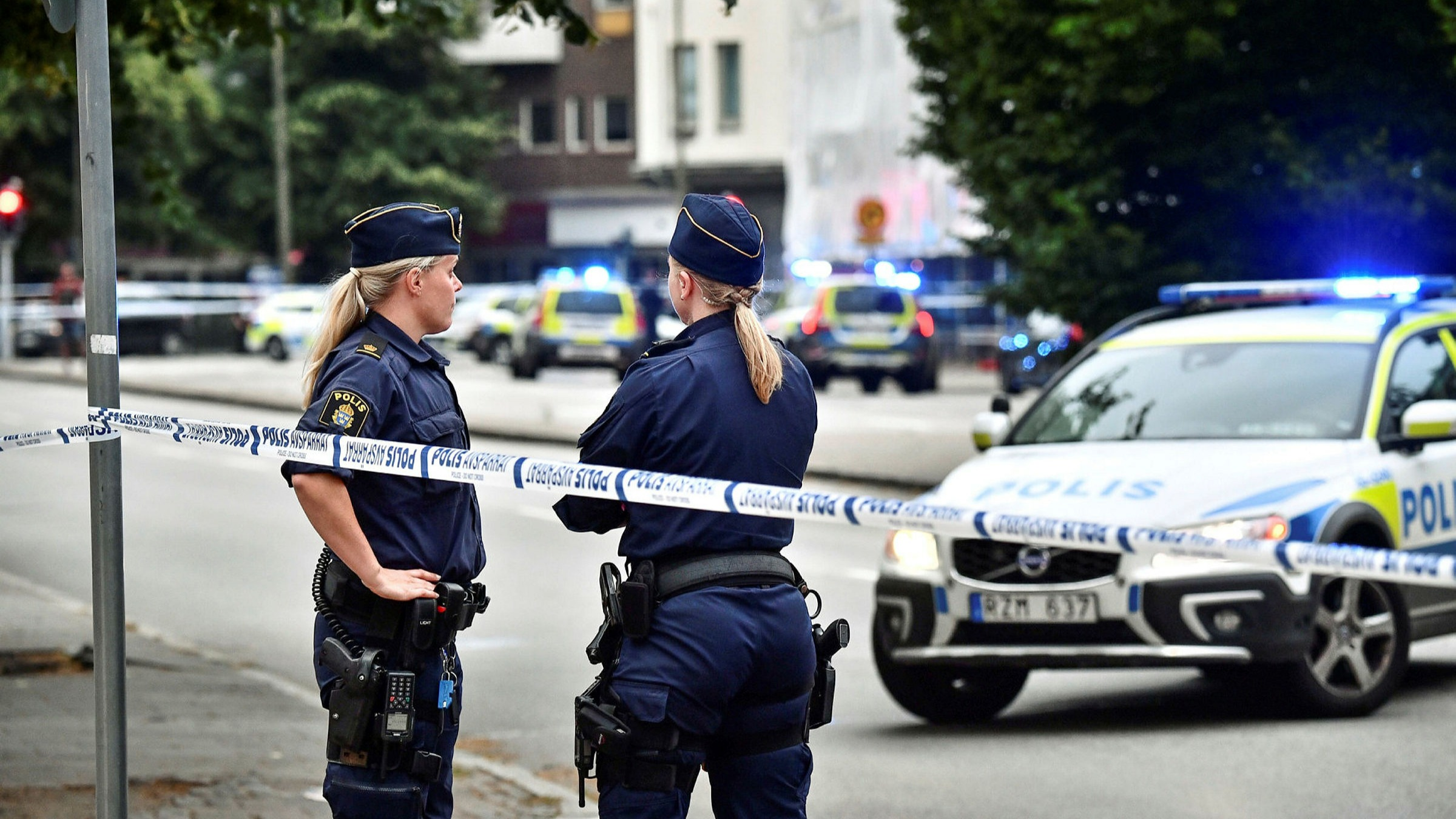 Sweden Police Officer