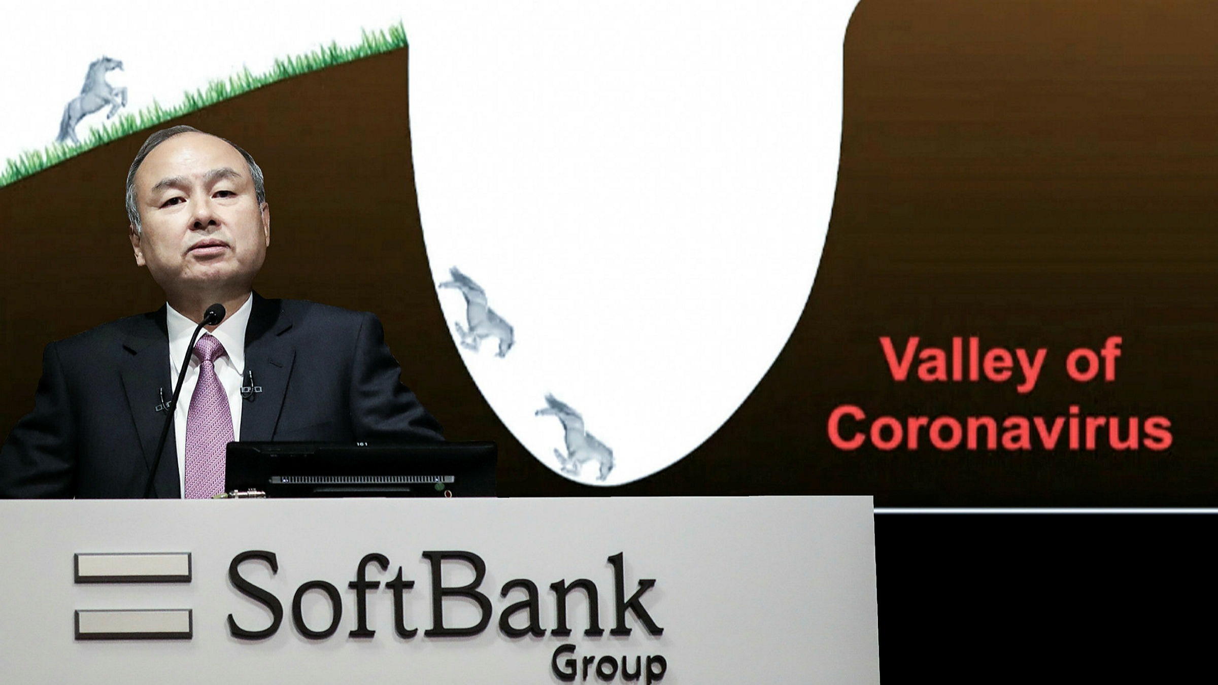 SoftBank and Masayoshi Son search for path out of 'coronavirus valley' |  Financial Times