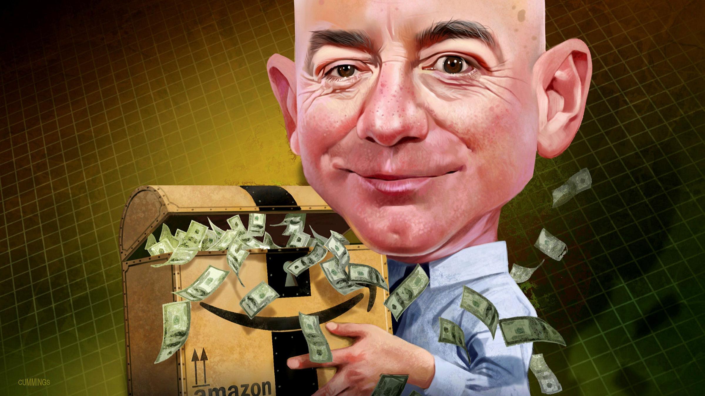 Jeff Bezos Amazon Billionaire In The Hot Seat Financial Times