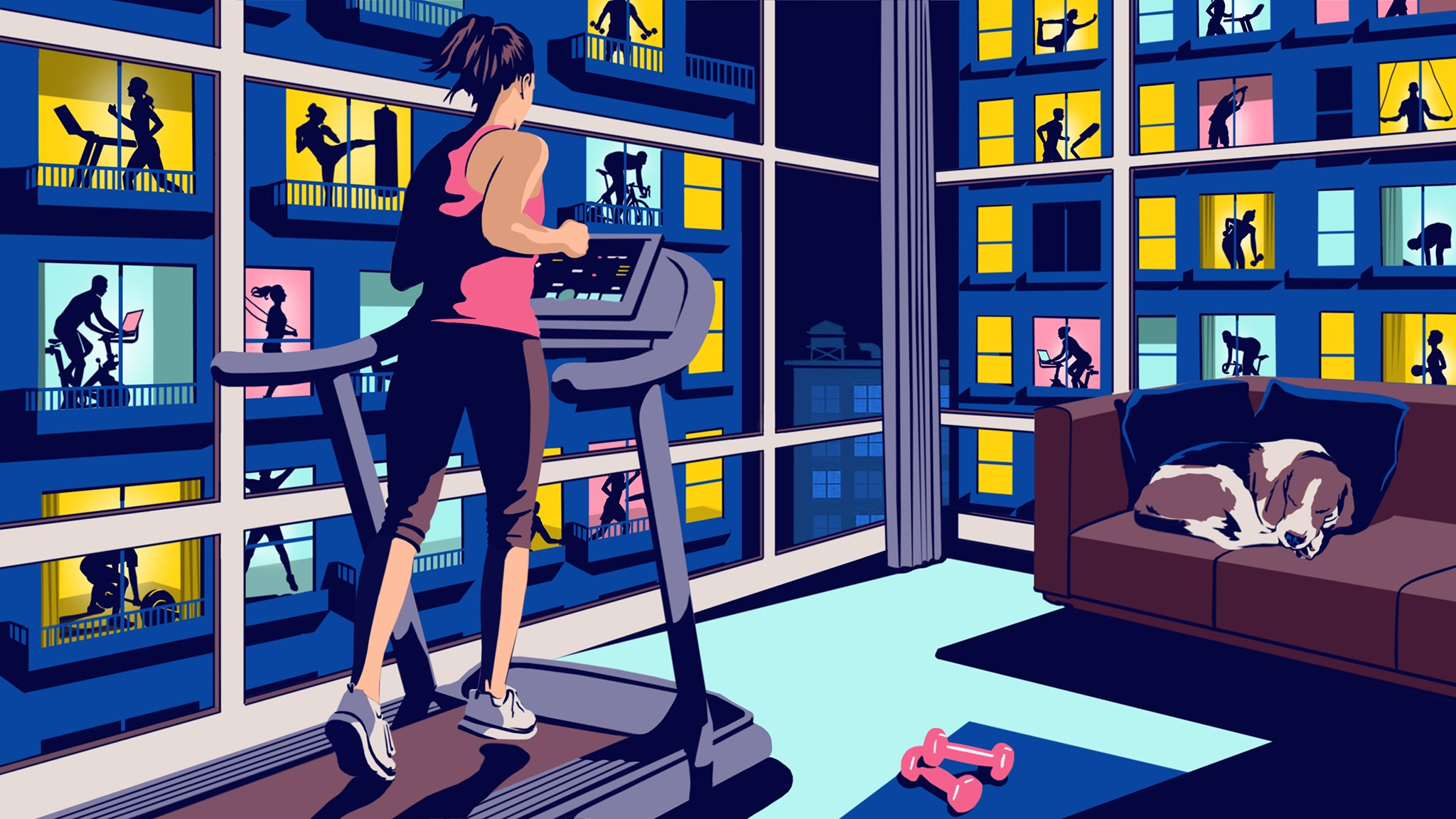 The Extra Mile How Covid 19 Transformed Exercise Financial Times