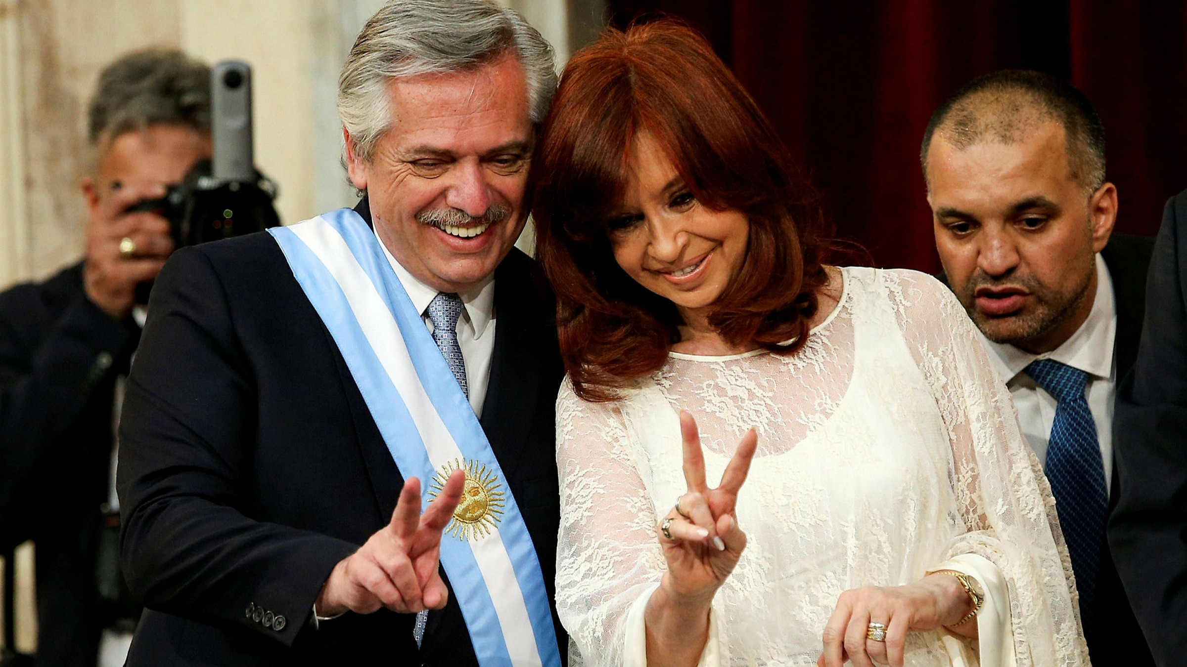Argentina's political double act moves on to next challenge 2
