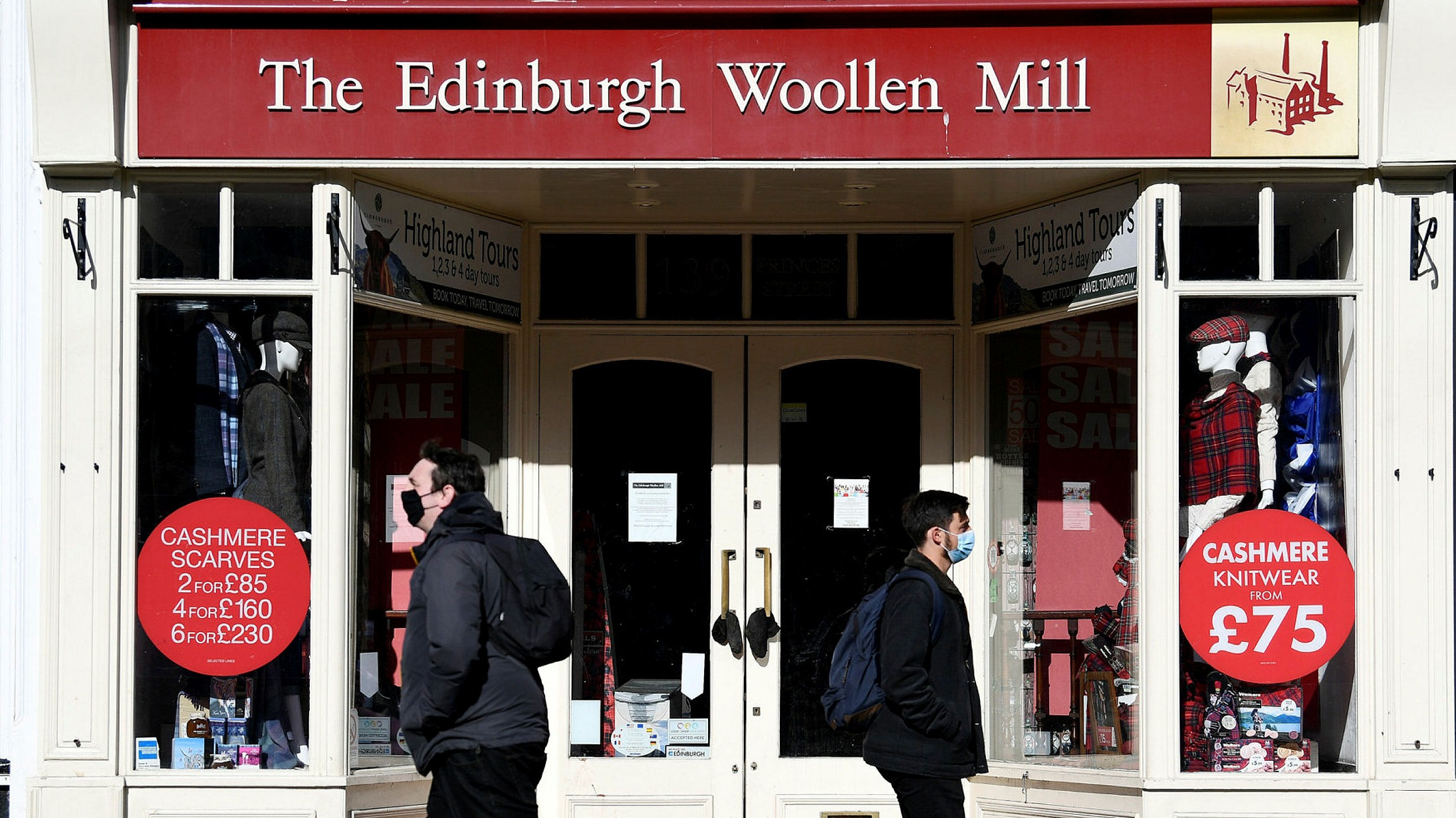 Edinburgh Woollen Mill On Brink Of Administration Financial Times