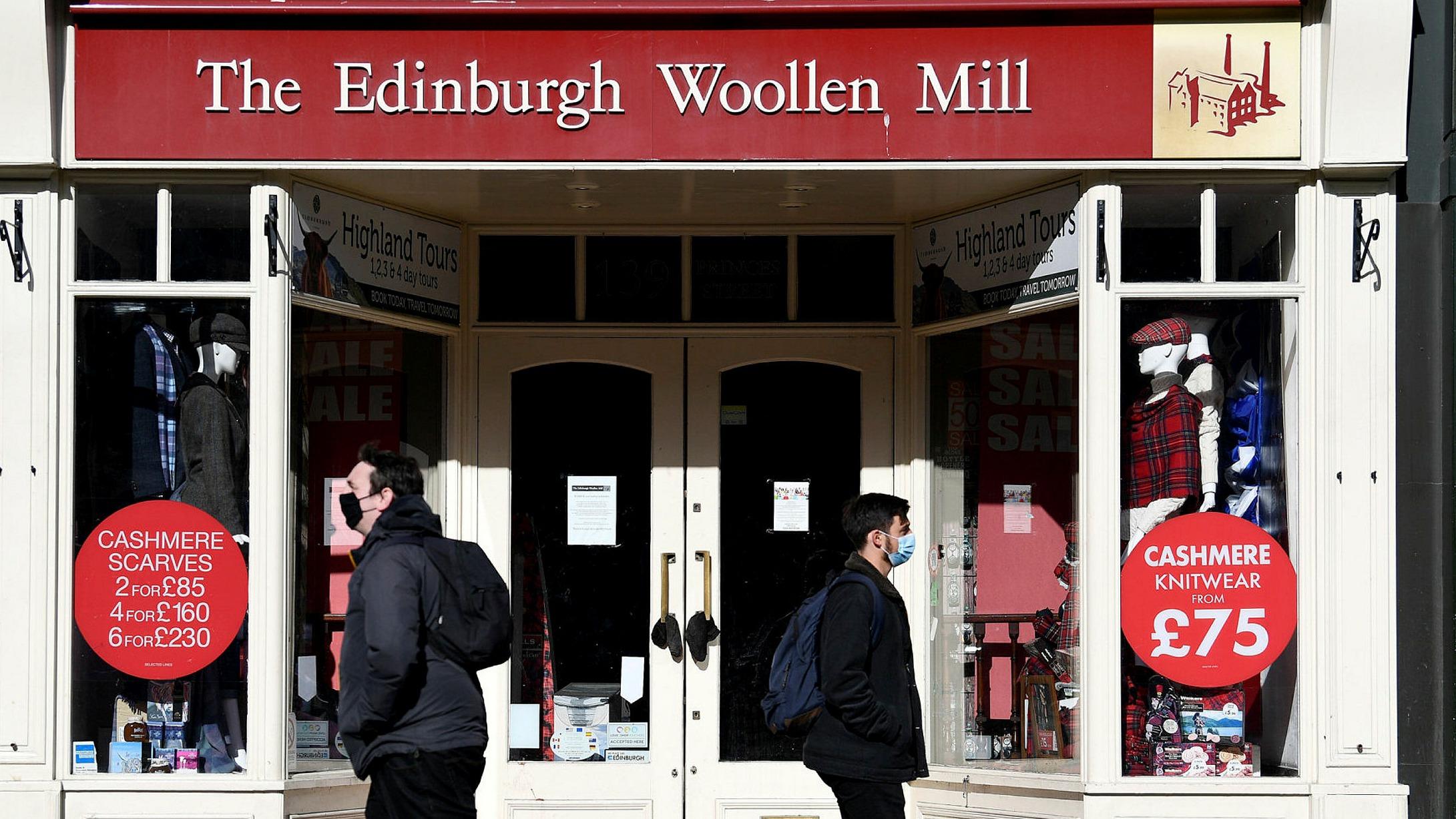 Edinburgh Woollen Mill Enters Administration Financial Times